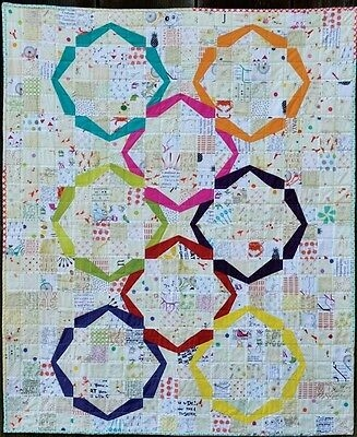 new quilt pattern hula girl 44x53 beginner level paper piecing ebay Elegant Kimona Grace Quilt Pattern Inspirations