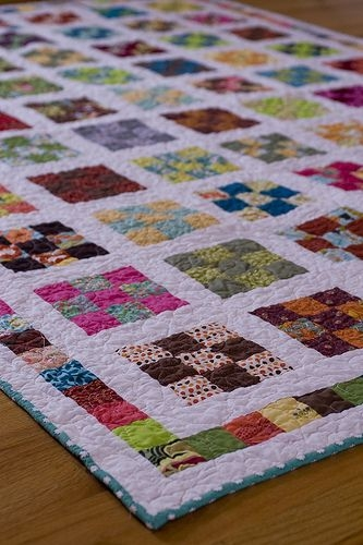nine patch a day quilt along quiltfinally finished Unique Nine Patch Quilt Patterns Inspirations
