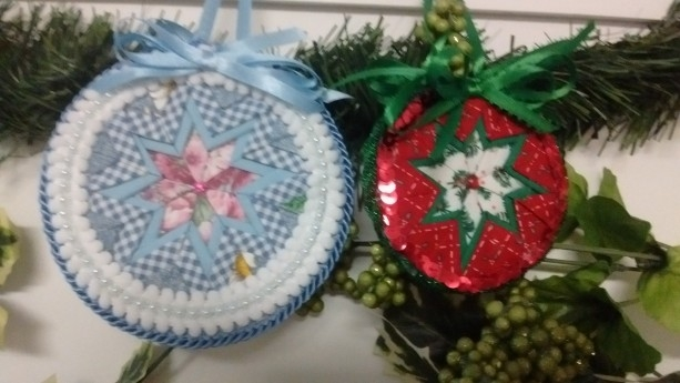 no sew quilted ornament Cool No Sew Quilted Ornaments Gallery