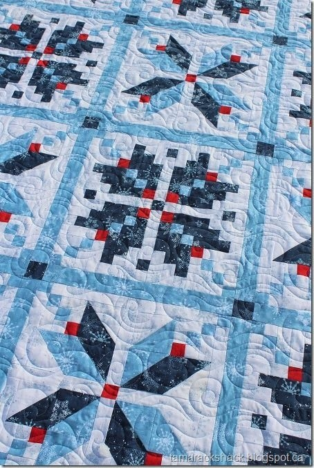 norwegian star quilt tamarack shack bloglovin quilts Interesting Norwegian Quilt Patterns