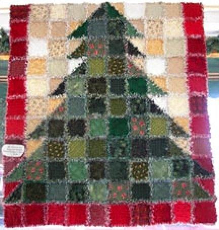 ochristmas tree rag tree quilt kit Christmas Tree Rag Quilt Pattern Gallery