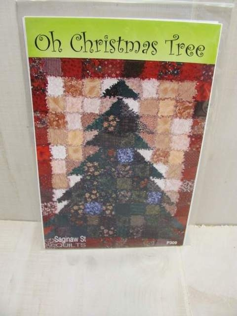 oh christmas tree rag quilt pattern karla alexander Christmas Tree Rag Quilt Pattern Gallery