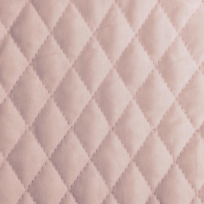 one half yard of double sided pre quilted fabric material ba pink Modern Lovely Pre Quilted Double Sided Fabric Gallery
