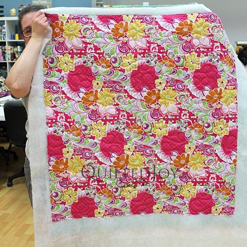 our longarm renters quilted simple whole cloth quilts Modern Quilting Fabric Whole