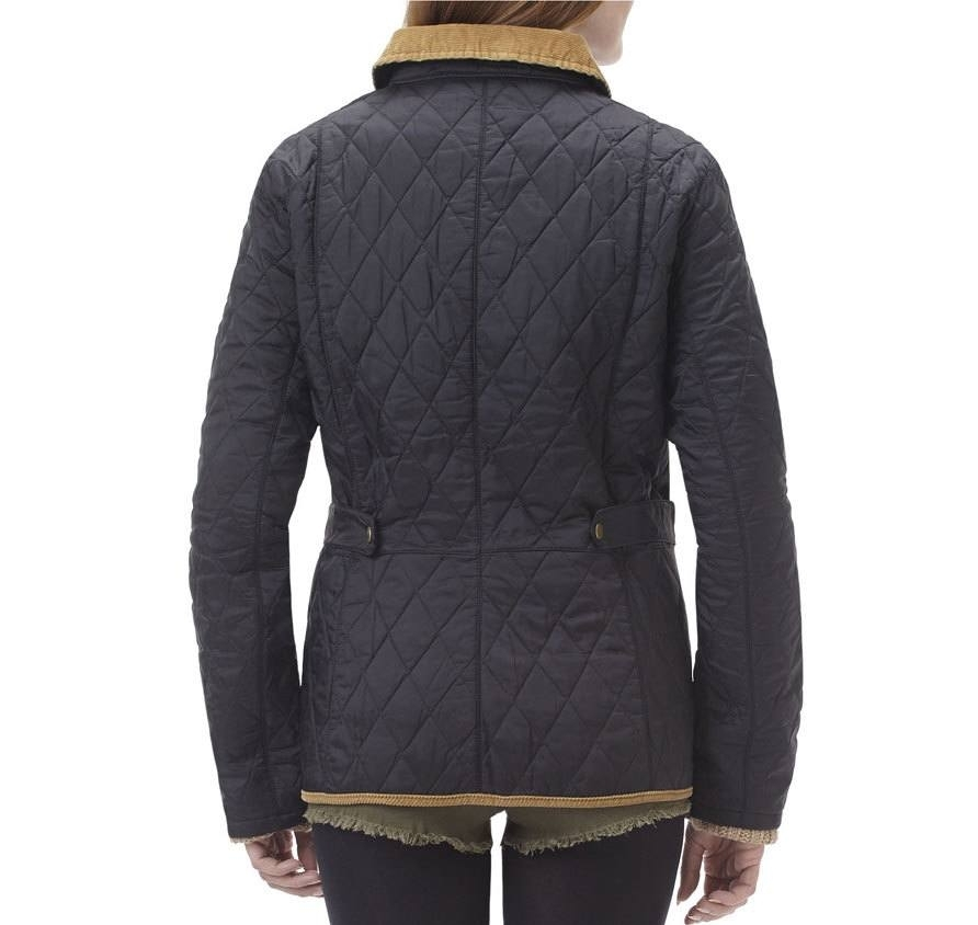 outstanding quality barbour archive collection womens Cool Barbour Vintage Quilted Jacket With Cord Collar And Trims