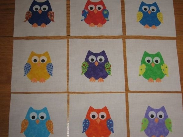 owl applique quilt sue lindley applique quilts owl Cool Owl Applique Quilt Pattern Gallery
