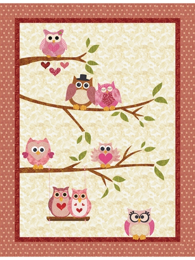 owl you need is love quilt pattern Cool Owl Applique Quilt Pattern Gallery