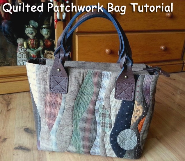 patchwork bag pattern quilt diy tutorial ideas Cool Patterns For Quilted Bags Inspirations