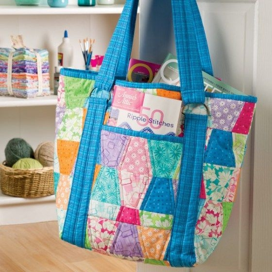 patchwork tumbler tote free pdf pattern bag patterns to Unique Pattern For Quilted Tote Bag