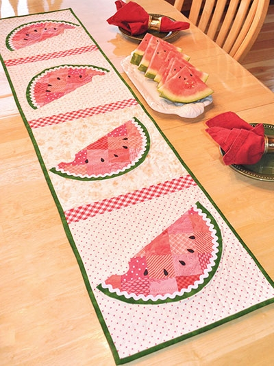 patchwork watermelon table runner pattern Unique Watermelon Quilt Pattern Inspirations