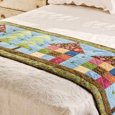 pattern freebies go row house bed runner pattern nqc Elegant Bed Runner Quilt Patterns