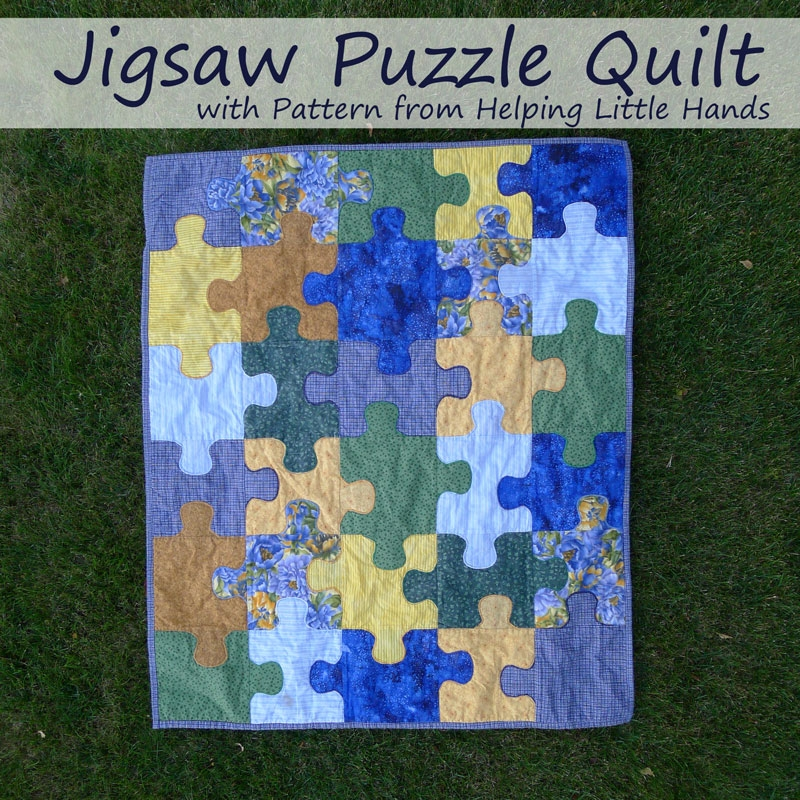 pieces polly jigsaw puzzle ba quilt free pattern Elegant Jigsaw Puzzle Quilt Pattern Gallery