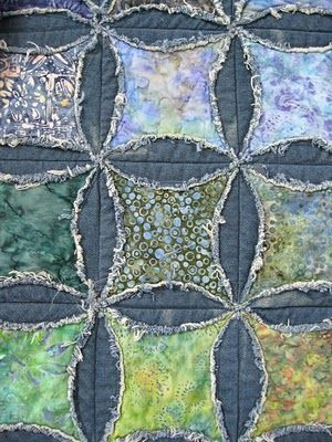 pin on diy ideas Mock Cathedral Window Quilt Pattern Inspirations