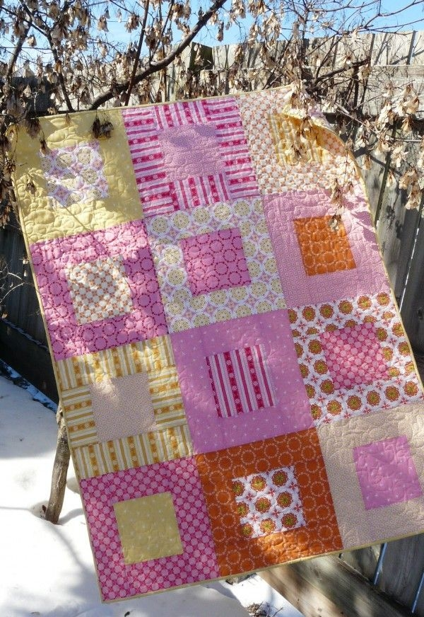 pin on quilting Cozy Easy Quilt Patterns Using Fat Quarters Gallery