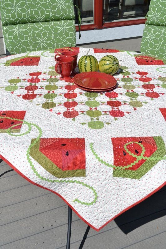 pin on quilting Unique Watermelon Quilt Pattern Inspirations