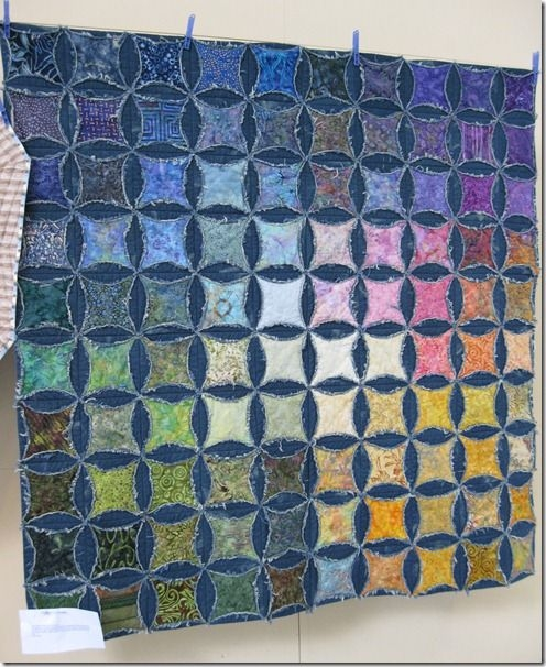 pin on recycled clothing projects Mock Cathedral Window Quilt Pattern Inspirations