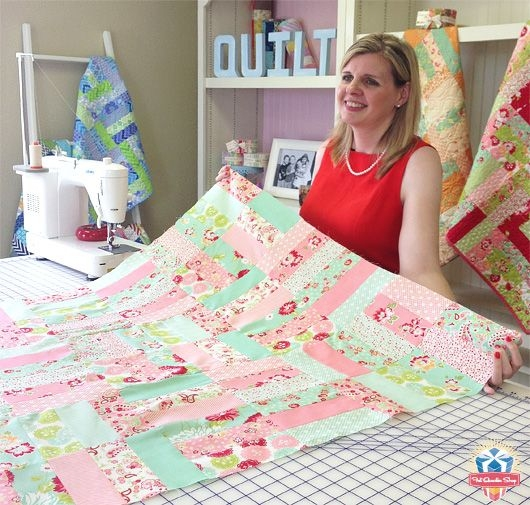 pin on watch and learn videos and tutorials Interesting Jelly Roll Jam Quilt Pattern Inspirations