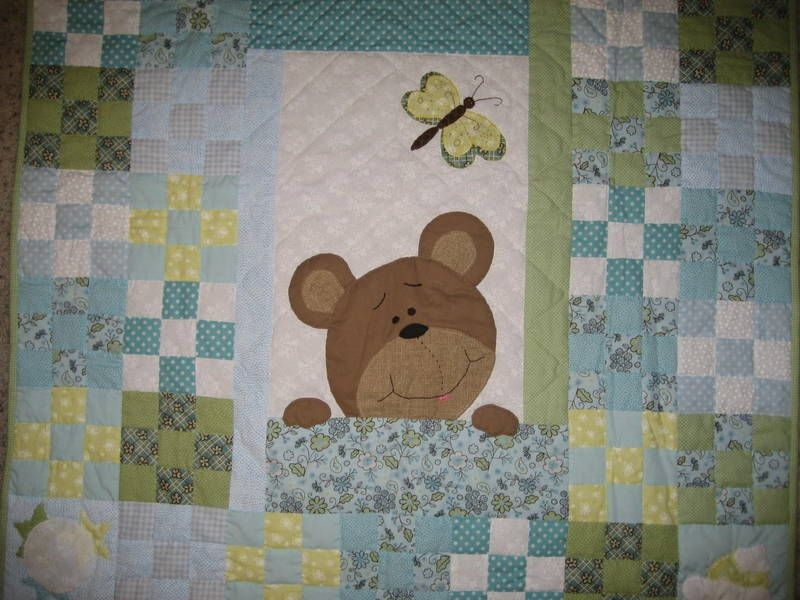 pinner wrote teddy bear quilt made linda goodwin for Elegant Teddy Bear Quilt Patterns Gallery