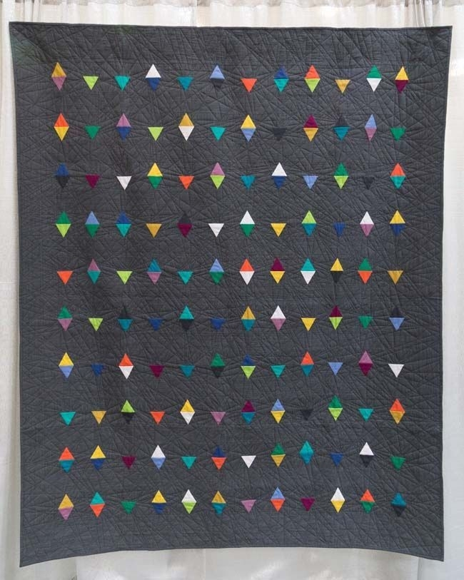 portfolio the modern quilt guild geometric inspiration Stylish Triangle Modern Quilt Guild