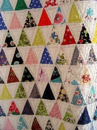 pyramid quilt 60 degree triangle quilt tutorial here if Elegant 60 Degree Triangle Quilt Inspirations