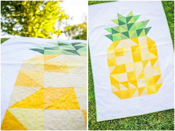 queen pineapple quilt pattern pdf download Interesting Pineapple Quilt Patterns