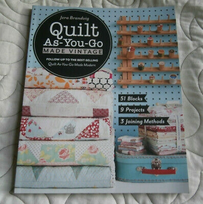 quilt as you go made vintage jera brandvig new quilting book ebay Elegant Quilt As You Go Made Vintage Gallery