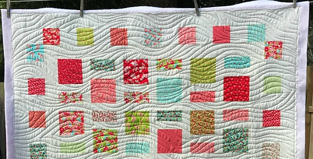 quilt gentle curves with the walking foot quilting digest Cool Walking Foot Quilting Patterns Inspirations