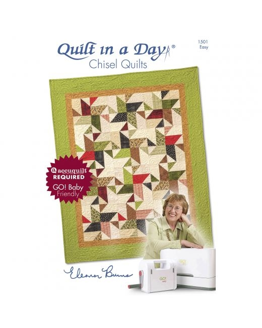 quilt in a day chisel quilt pattern booklet eleanor burns Interesting Eleanor Burns Quilt In A Day Patterns Inspirations