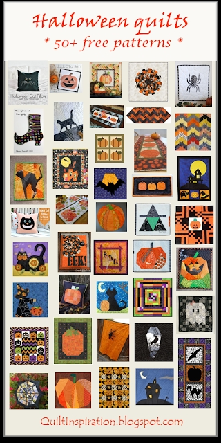 quilt inspiration free pattern day halloween Stylish Halloween Quilting Patterns Gallery