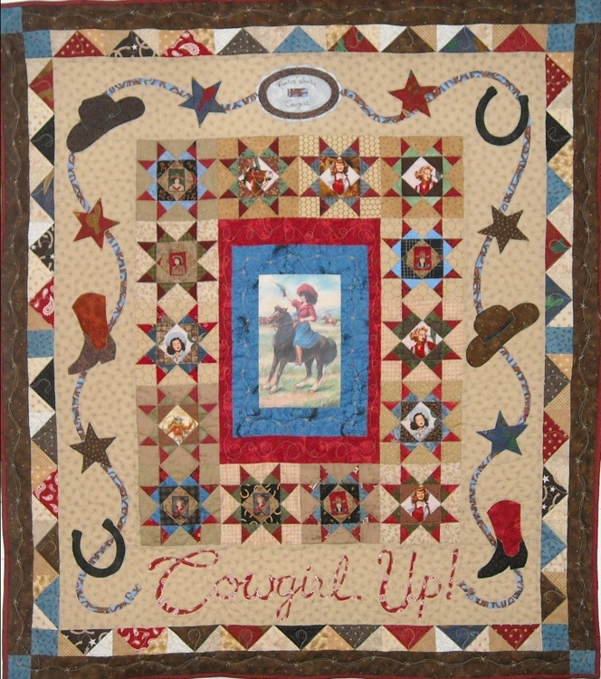 quilt inspiration quilts of the wild west part 2 Interesting Vintage Cowboy Quilt Gallery