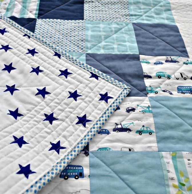 quilt patterns for beginners creativity is a way of life Cozy Patchwork Quilt Pattern For Baby Boy Gallery