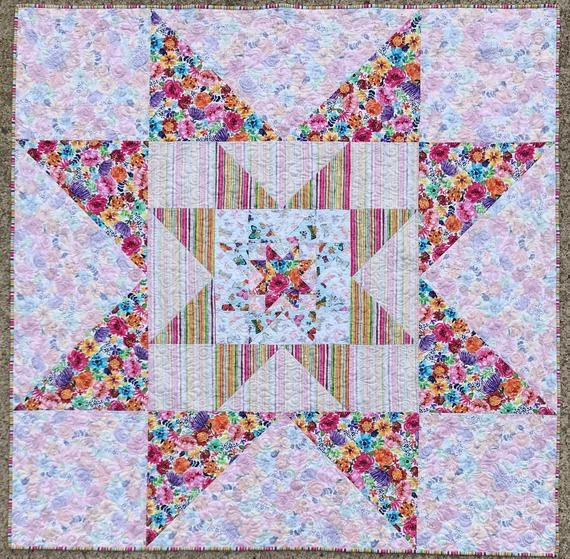 quilt patternvarilovable starvariable star patternclassic block quilt patternuse both sidesthree fabric quiltsquiltsquiltingpatterns Interesting Jackson Star Quilt Pattterns Inspirations