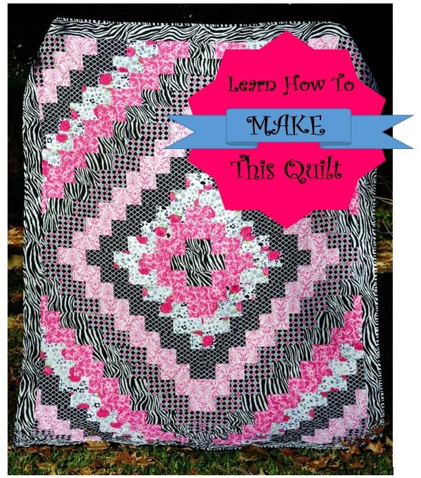 quilt tutorial trip around the world quilt little bright Interesting Round The World Quilt Pattern