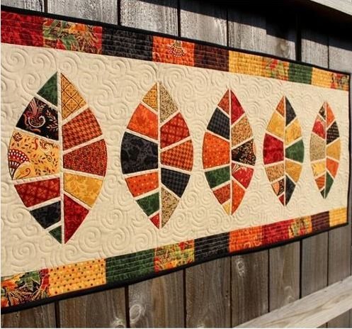quilted holiday decor thanksgiving patterns Stylish Thanksgiving Quilt Patterns