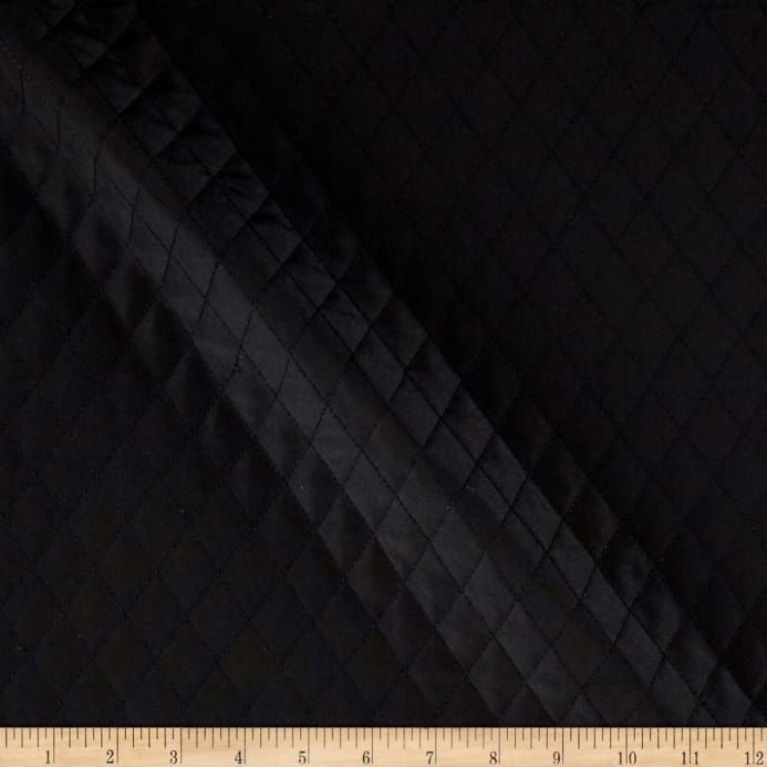 quilted interlining black fabric Stylish Black Quilted Fabric Inspirations
