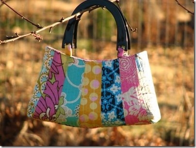 quilted petal bag free pattern Cool Patterns For Quilted Bags Inspirations