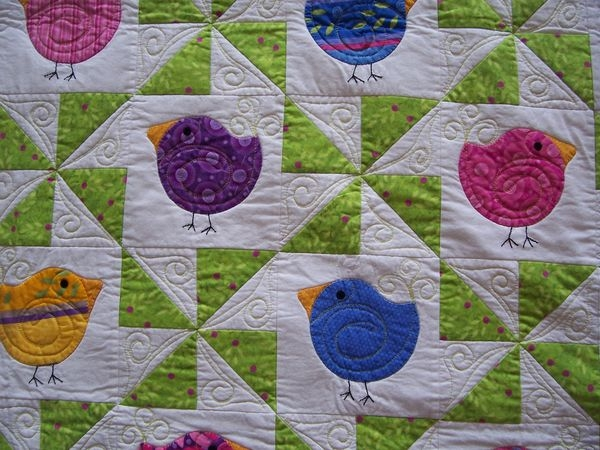 quilting board Cozy Chubby Chicks Quilt Pattern