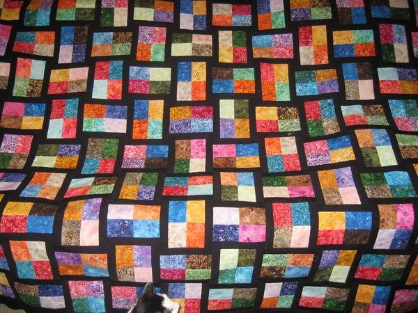 quilting board Elegant Sparkling Gemstones Free Quilt Pattern Inspirations