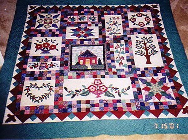 quilting board Interesting Grandmas Country Album Quilt Pattern