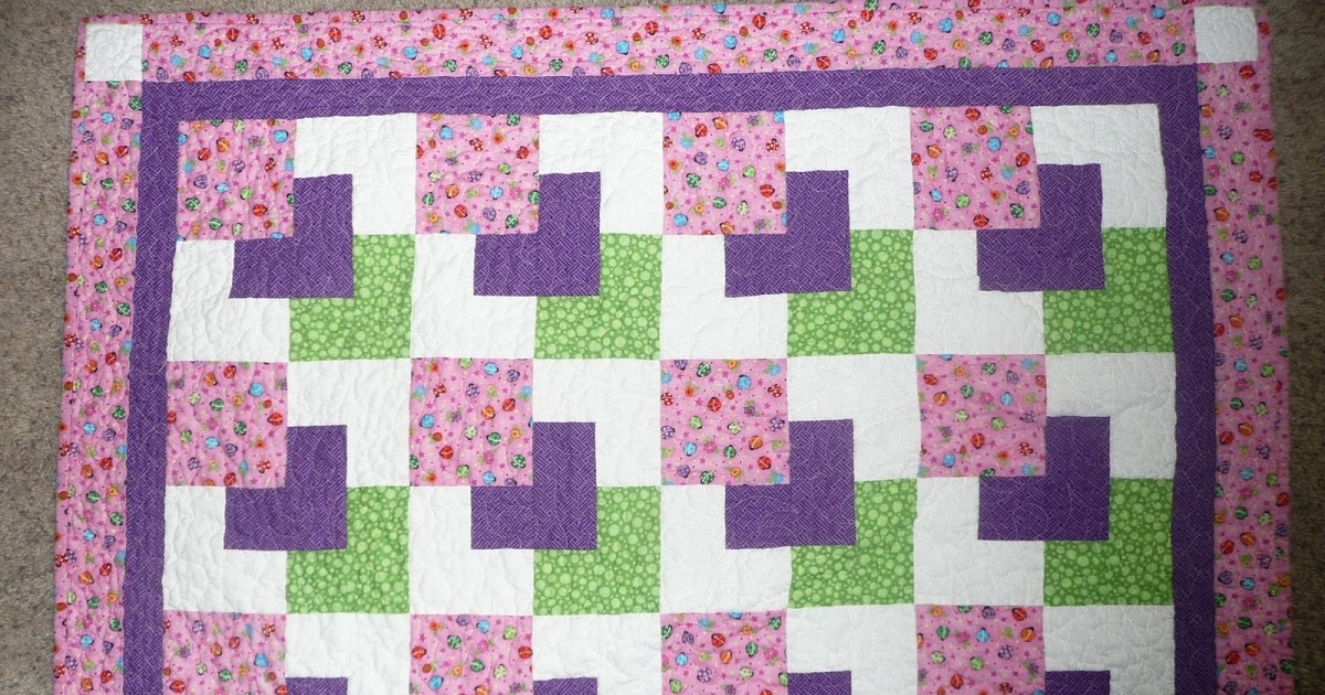 quilting grandma ba quilt completed and sent Hanky Panky Quilt Pattern
