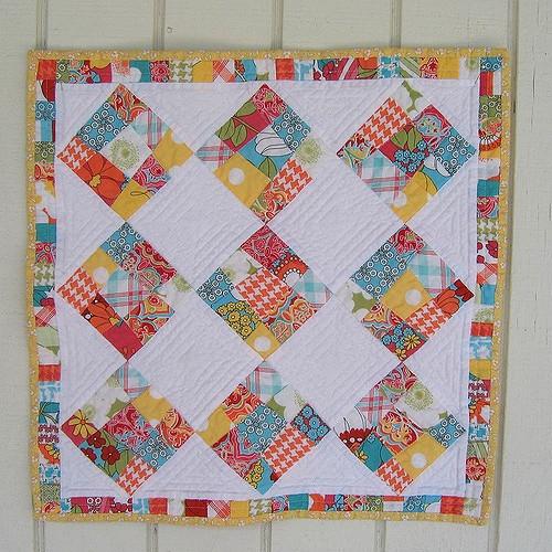 quilting land crazy nine patch quilt Cozy Crazy Nine Patch Quilt Pattern