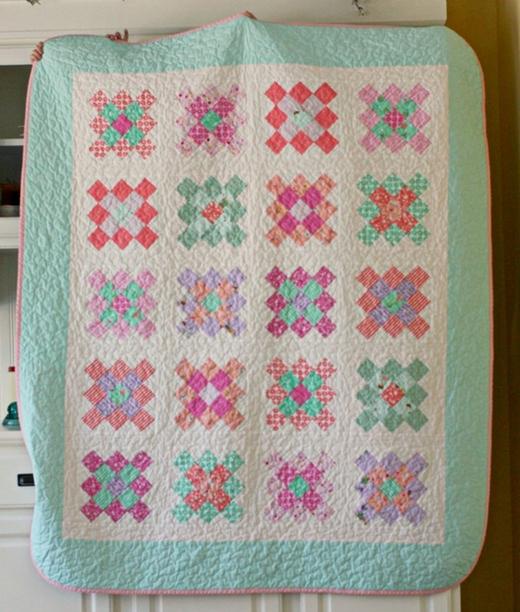 quilting land the granny square quilt Elegant Granny Square Quilt Pattern