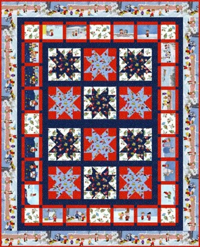 quilting treasures christmas time peanuts project sheet free Modern Quilting Treasures Patterns