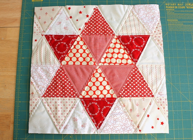 quilting with triangles part 3 design weallsew Modern Quilting With Triangles