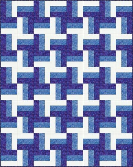 rail fence quilt pattern designs easy beginner quilt Elegant Railroad Quilt Block Pattern