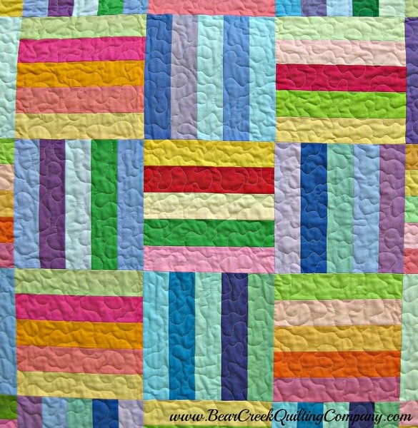 rainbow rail fence free quilt pattern Cozy Split Rail Fence Quilt Pattern Inspirations