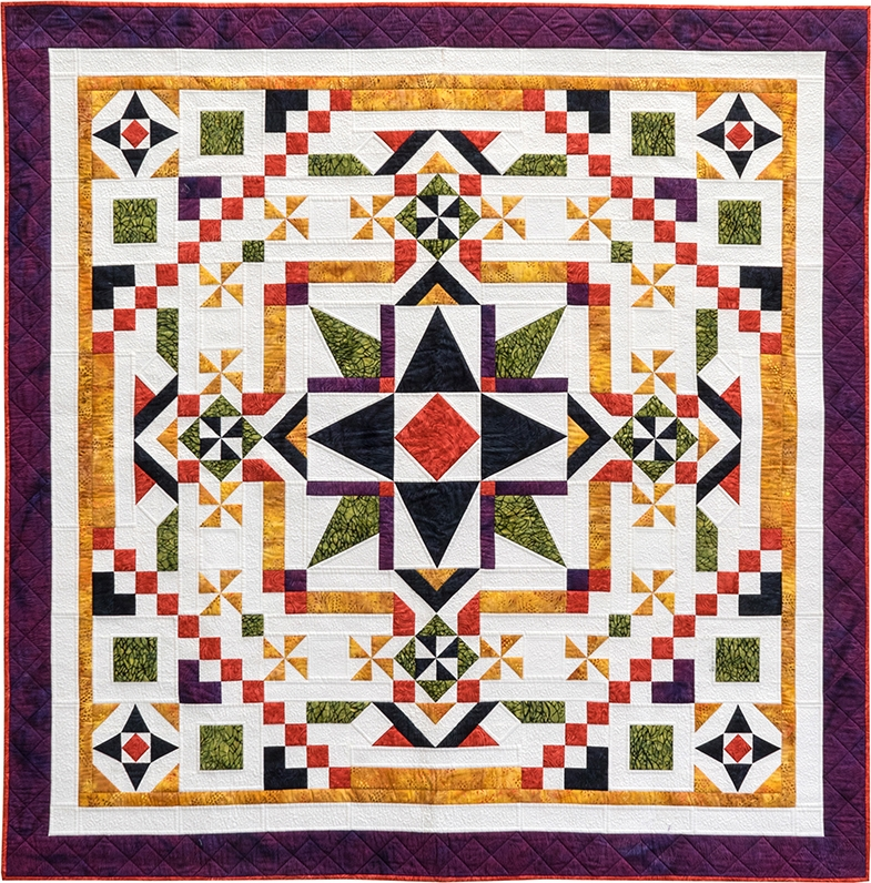 ramblin star block of the month quilting affection designs Cool Block Of The Month Quilt Patterns