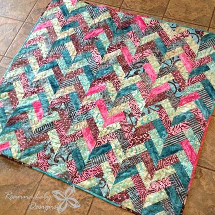 reannalily designs batik braid quilt tutorial Unique Batik Quilt Patterns Easy Inspirations