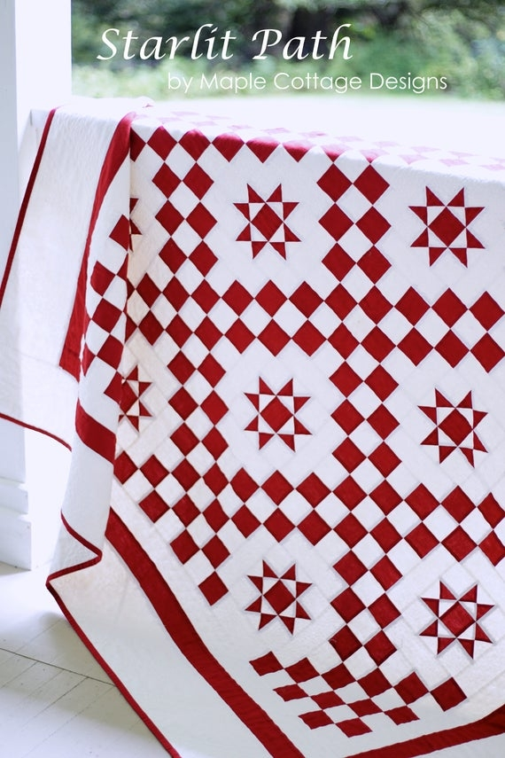 red and white quilt patterns pdf christmas quilt patterns star quilt pattern Cool Red And White Quilt Patterns