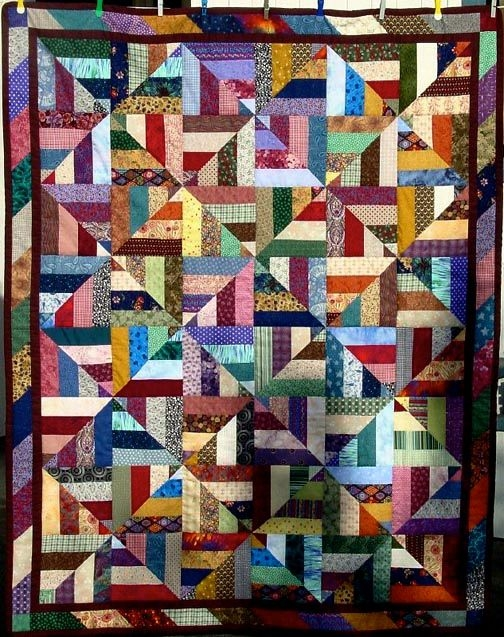 scrap quilt as you go twenty six free scrappy quilt Modern Easy Scrappy Quilt Patterns Gallery
